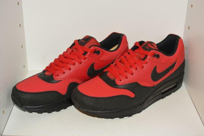 NIKE - AIR MAX 1 LEATHER PREMIUM Uomo RUNNING SHOES - NIKE Uomo SIZE 9 c31a8d