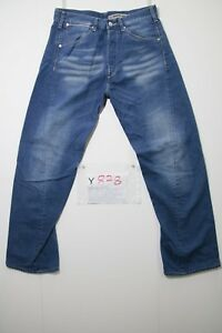 Jeans Engineered L34 Levi's W33 Y878 Tg Accorciato 47 Vintage Usato cod 0HqdSHxp