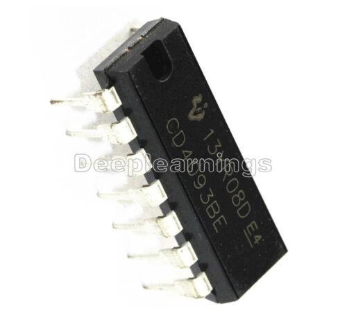 20PCS TI CHIP CD4093BE CD4093 4093 DIP-14 DIY DEVELOPE NEW IC