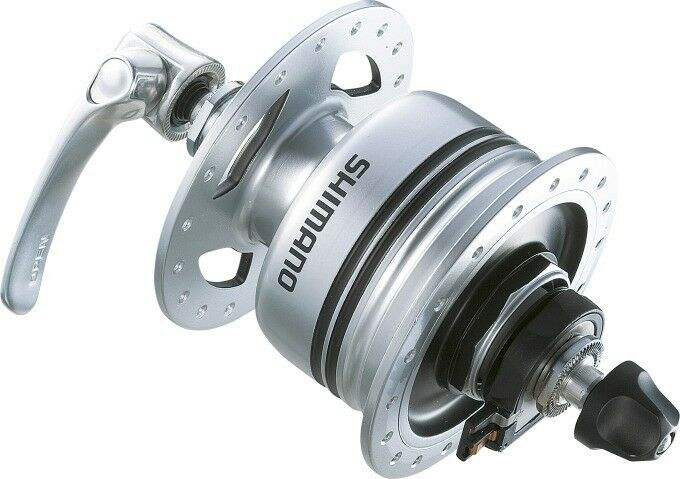 Mozzo dinamo Shimano DH-3N80 v-freno 32 fori senza predezione sovratensione
