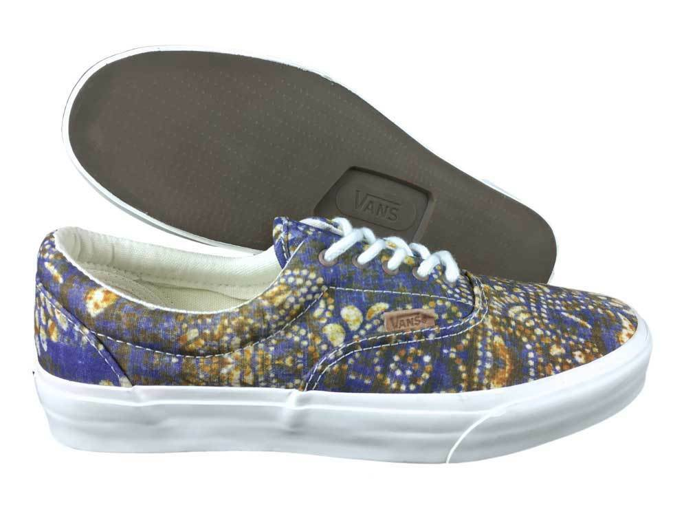 VANS. Era. Batik Indigo   Dress bluee shoes. Mens US Size 9.5, 10.0, 11.5.