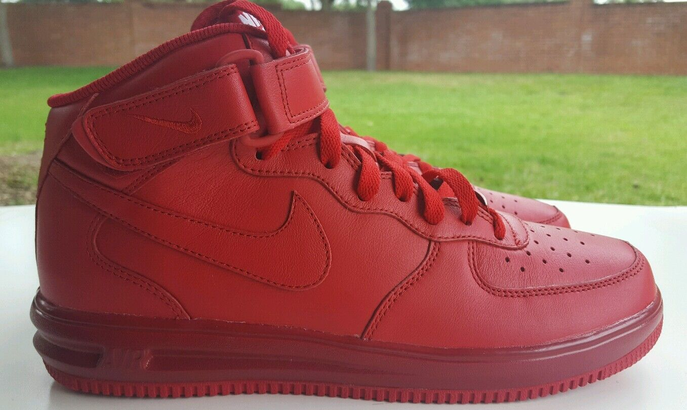 NIKE AIR FORCE 1 RED 808790-905 OCTOBRT  SIZE 8.5 808790-905 RED ea095f