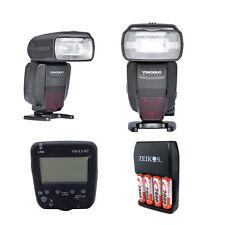 TWO Yongnuo YN600EX-RT II Flash TTL HSS Fr Canon + Transmitter YN-E3-RT YN600EX