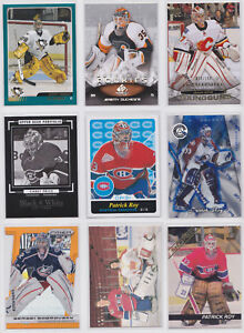 Goalie-Inserts-Parallel-SP-Numbered-RC-Rookie-NHL-Hockey-You-Pick