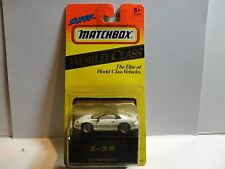 Matchbox World Class White Camaro Z-28