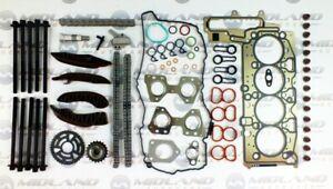 Cabeza-Junta-Pernos-cabeza-de-la-cadena-de-distribucion-Kit-Para-BMW-2-0-Turbo-Diesel-N47D20C-Motor