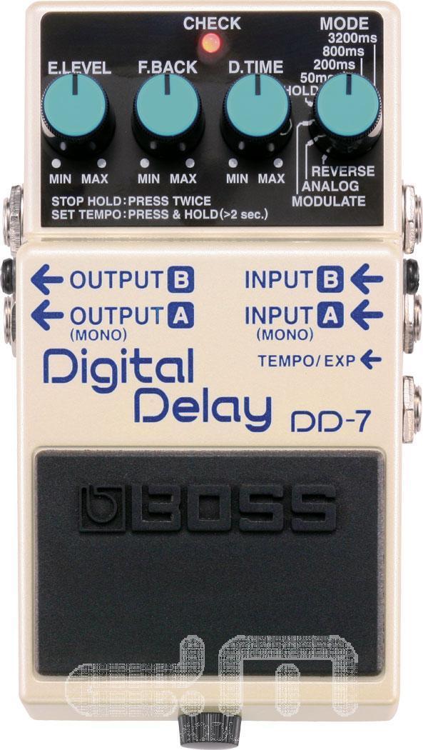 Boss DD-7 Delay Pedal   Guitar Pedal   NEW