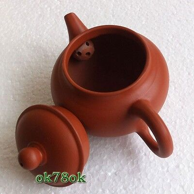 Chinese rare YiXing ZiSha Pottery Red clay Teapot Tea Pot 160ml *ON SALE*