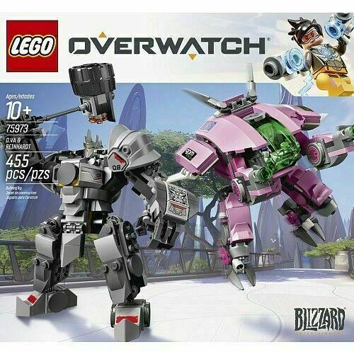 LEG75973 LEGO Overwatch D.VA /& Reinhardt