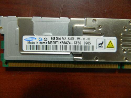 Samsung M395T1K66AZ4-CE66 8GB 2Rx4 PC2-5300F-555 1DDR2 ECC Server RAM