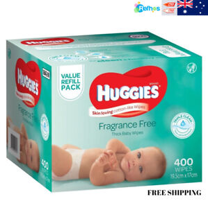 HUGGIES-Fragrance-Free-Baby-Wipes-Alcohol-Free-400-Wipes-Refill-Pack