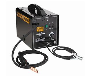 170 amp dc 240 volt mig flux wire cored welder welding machine tool cable gun ebay