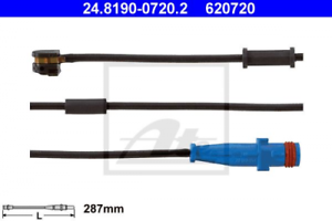 Warnkontakt PINZA FRENO usura per il sistema di frenatura assale anteriore ATE 24.8190-0720.2