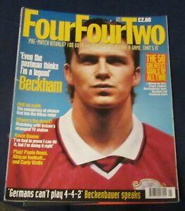 FOURFOURTWO-MAGAZINE-MAY-1998-DAVID-BECKHAM-FRANZ-BECKENBAUER-KEVIN-DAVIES