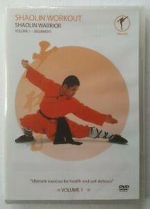 Shaolin Workout Shaolin Warrior Volume 1 - Beginners 2008 Shifu Yan Lei UK DVD