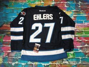 the latest 4e823 b4ede Details about NIKOLAJ EHLERS Winnipeg Jets Signed Jersey JSA COA (JSY105)