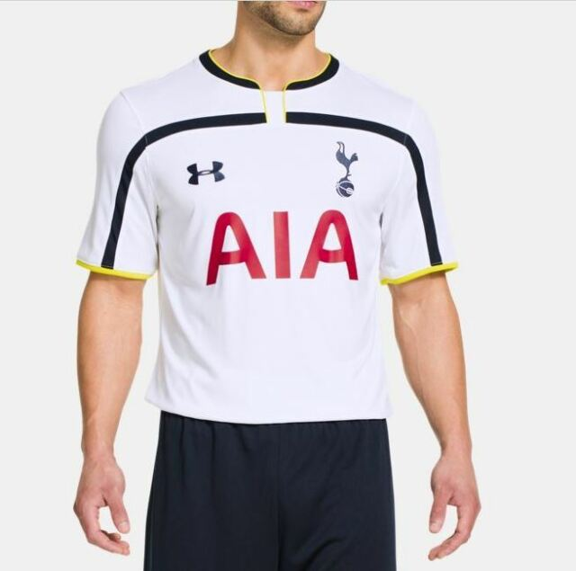 * Under Armour Mens Tottenham Hotspur 14/15 Home Replica Short Sleeve Shirt, Med