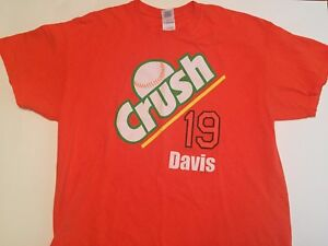 Baltimore-Orioles-Chris-034-Crush-034-Davis-T-Shirt-XL-Extra-Large-Baseball-MLB