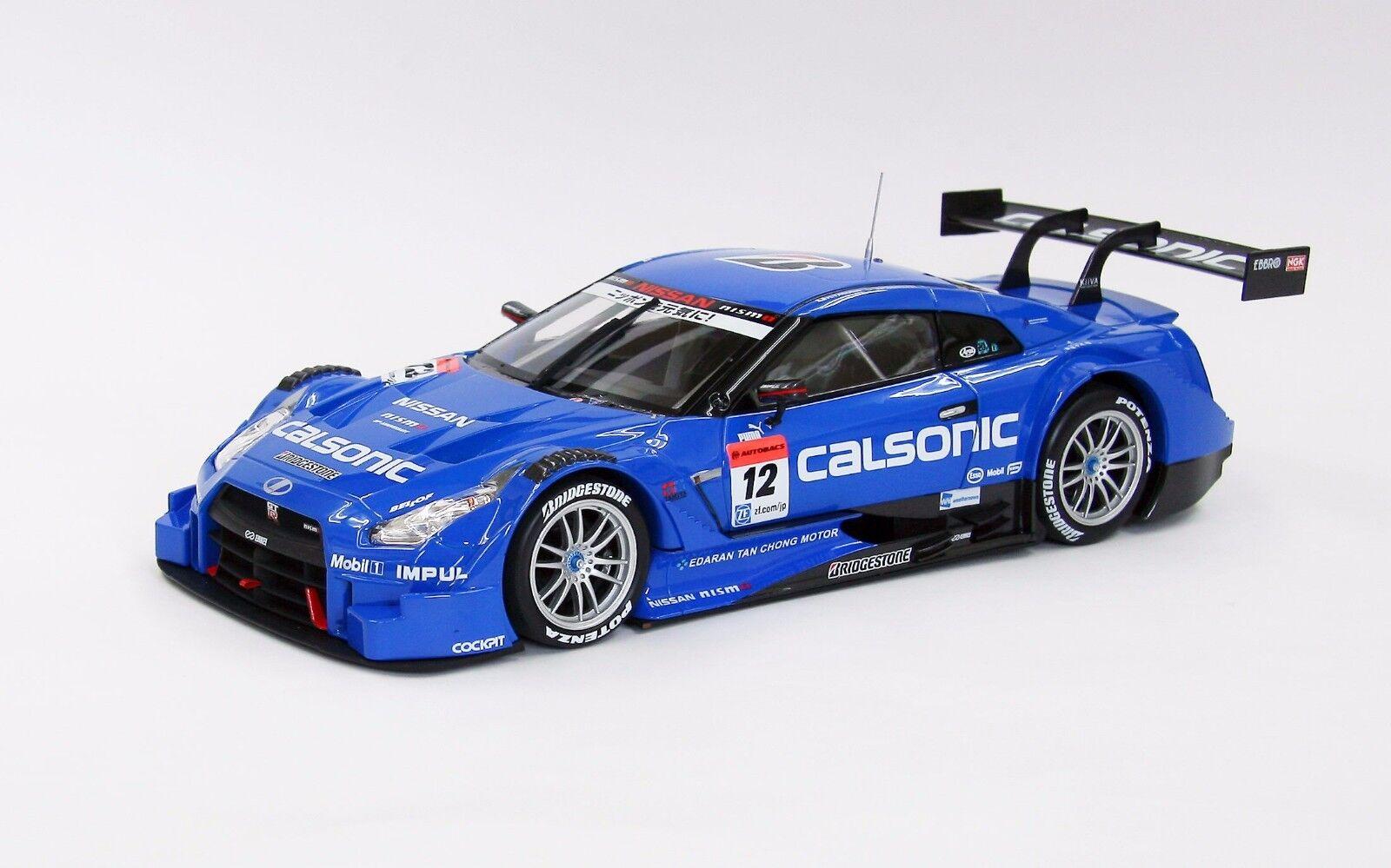 EBBRO 81017 1 18 Calsonic Impul Nissan Skyline GT-R R35 Fuji Winner 2014