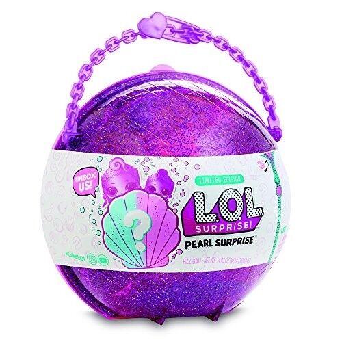 L.O.L. Surprise  Pearl Surprese Mezza Sfera con LOL e LIL Speciali Incluse, Colo