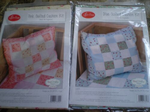 Bee Crafty Designs Sew Easy Blue Cushion Kit LA104