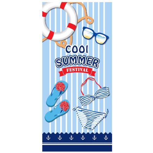 Microfiber Camping Beach Gym Bath Travel Sports Swimming Towel Children flamingo