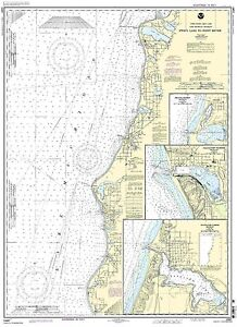 NOAA Chart Stony Lake to Point Betsie;Pentwat<wbr/>er;Arcadia;Fra<wbr/>nkfort 27th