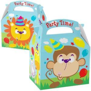 Faveur-Butin-Fete-Boites-Jungle-Enfants-Zoo-Animal-Fete-D-039-Anniversaire