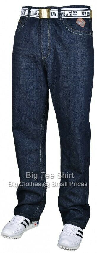 Big Mens Dark Used Kam Hugo 30 IL Jeans 42 44 46 48 50 52 54 56 58 60  | Schön
