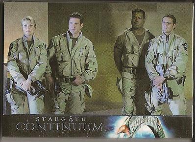 Stargate Heroes Stargate Continuum 18 Card Set SC1-SC18