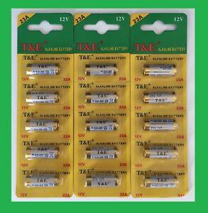 5 Pile alcaline A23 LR23 23A 23AE 12V alarme FIN 2023 3 lots acheté 4ème offert