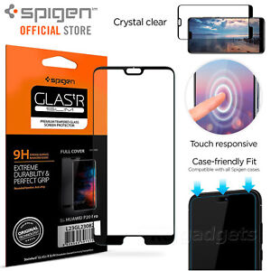 Huawei-P20-Pro-P20-Screen-Protector-Genuine-SPIGEN-Full-Cover-Tempered-Glass