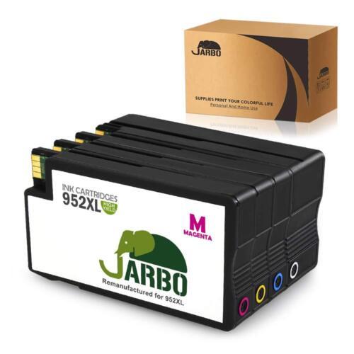 4PK Ink Cartridges For HP 952XL Officejet Pro 7740 8210 8710 8720 8740 8715 8716