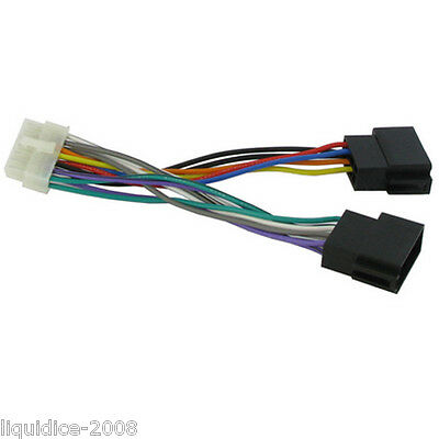 ISO KEH-M 9300 RDS HEAD UNIT REPLACEMENT POWER LEAD CT21PN02 PIONEER 14 PIN