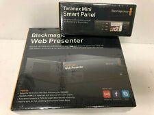 Blackmagic Design Web Presenter W Blackmagic Design Teranex Mini Smart Panel For Sale Online