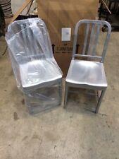 Siren Aluminum Chair Model 850 New 2 Chairs 1 Price Restaurant Outdoor Day