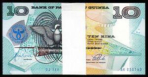 Papua New Guinea Lemberg-Zp 10 Kina 1998 Pick 17 UNC comm