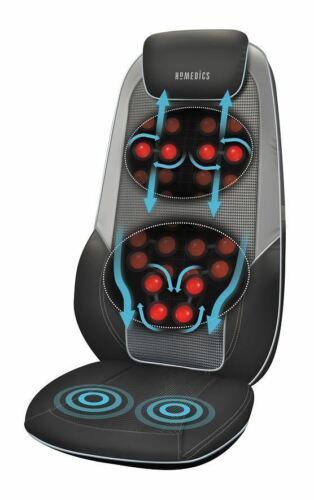 1 of 1 - HoMedics Shiatsu Max 2.0 Back and Shoulder Massager with Heat Massage Chair