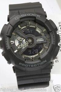 GA-110-1B-Black-Casio-Men-039-s-Watch-G-Shock-Analog-Digital-200M-in-Original-Packy