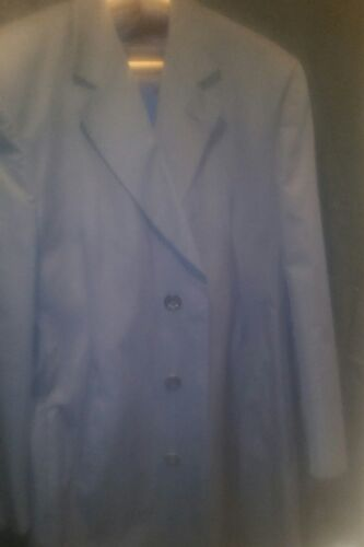 Blue Valentino Boutique Lined Trench/Rain Overcoat