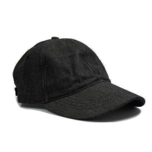 Work Casual Sports Leisure Black Classic Adjustable Baseball Caps