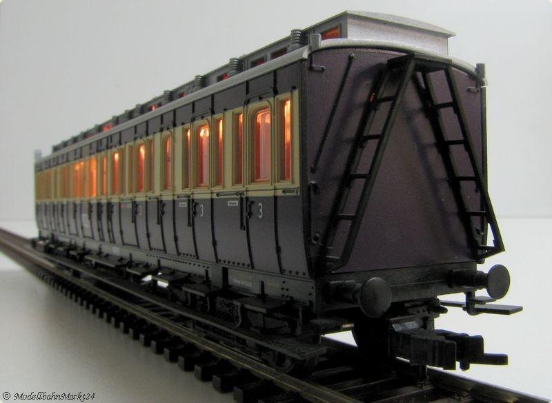 Fleischmann DRG Compartment Car 3. Class Epoch II KK bel.