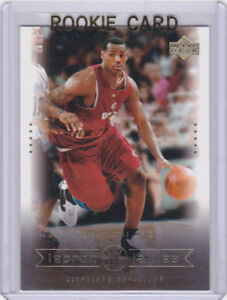 Lebron James Rookie Card 2003 04 Upper Deck Rc Cleveland Cavs Los Angeles Lakers Ebay