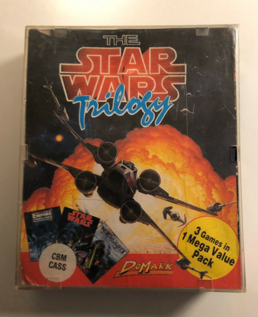 Star Wars Triology, Commodore 64, De tre klassiske Star…