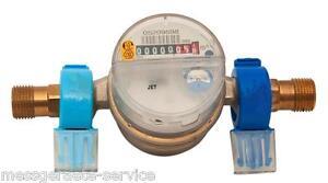 2 STÜCK Aufputz PLOMBE Plombiermaterial Wasserzähler Qn 1,5