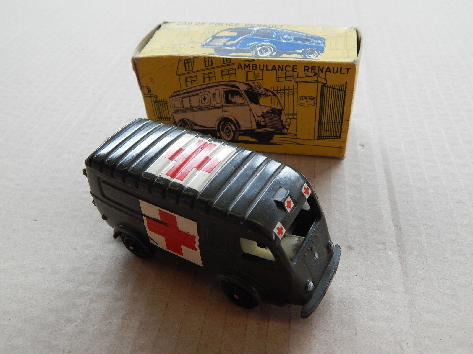 VINTAGE CIJ F n° 3.62 Renault 1000 kg ambulance militaire 1 43 DIE CAST DIECAST