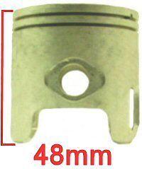 70cc PISTON AND RING SET  47mm MINARELLI 2 STROKE MOTORS 10mm PIN FOR JOG