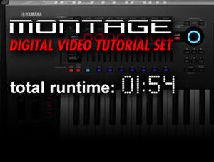 Yamaha Montage Instructional Video Tutorials on Blu-ray