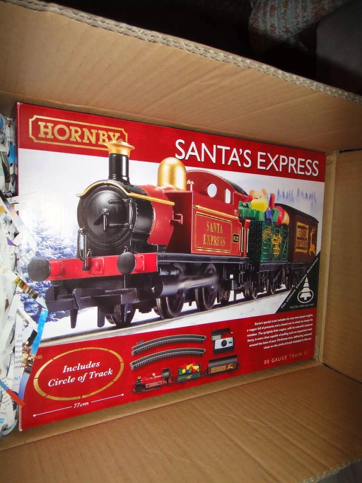 Hornby Santa's Express Christmas Train Set (Original Retail)