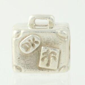 e08945438955 Pandora Suitcase Bead Charm - Sterling Silver 790362 Suitcase ALE ...
